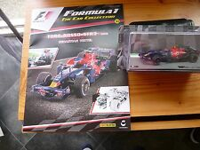 FORMULA 1 CAR COLLECTION ISSUES 31 TORO ROSSO STR3 NEW & SEALED