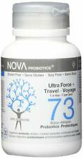 NOVA PROBIOTICS Multi-Strain ULTRA STRENGTH & TRAVEL 73 Billion Probiotics