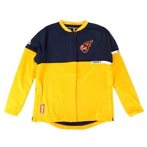 Indiana Fever WNBA Adidas Authentic On-Court Team Issued Warm Up Jacket Women
