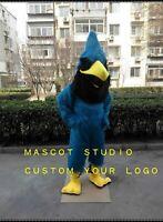Halloween Blue Mascot Costume Bird Cartoon  Fancy Anime Theme Dress Carnival