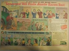 LifeBuoy Soap Ad: Lonesome Bill Finds Auntie Knows Best! Wartime Ad from 1940's
