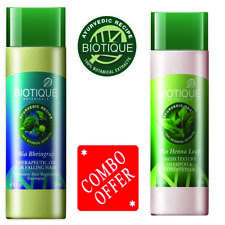 Biotique Bio Henna Leaf Shampoo and Conditioner + Bio Bhringraj Fresh Growth Oil