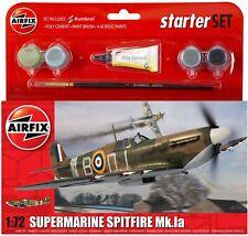 AIRFIX A55100 Supermarine Spitfire MkIa Starter Set 1:72 Aircraft Model Kit