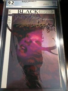 Black Orchid #1 Vertigo PGX 9.2+ Certified Graded Autographed x2 COA
