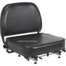 FORKLIFT VINYL SEAT ASSEMBLY TCM, TOYOTA, NISSAN, CLARK