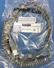 Genuine Code 8' PU Coiled USB to Rj50 Gray Affinity Cable Cra-c508 Cr1400