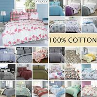 Nimsay Home Luxury 100% Cotton Quilt Duvet Bedding Set Single Double Super King