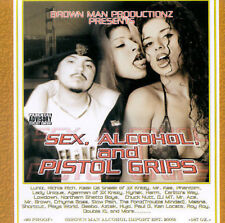 FREE US SHIP. on ANY 3+ CDs! NEW CD Various Artists: Sex Alcohol & Pistol Grips