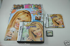 Hannah Montana - Nintendo DS . COMPLETE with BONUS POSTER - Good Shape