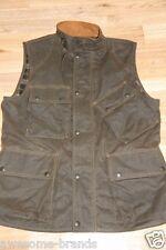 RRL Ralph Lauren Down Moto Vest men Large L Leather Patch