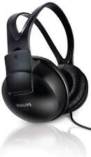 Philips SHP1900 Headphones Music Sound Audio Black Full Size Ear Enclosing