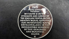 * Life of Churchill Maiden Speech in Parliament 1901 Silver Medal
