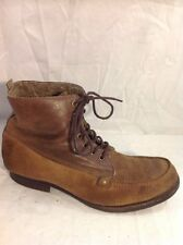 Men's Buffalo Brown Leather Boots Size 41
