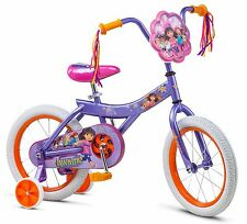 "16"" Dora Bike Sidewalk, Purple"