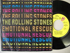 Rolling Stones - Emotional rescue - Single 1980
