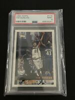 1997 Topps Tim Duncan Rookie Card RC PSA 9 MINT #115 HOF Spurs