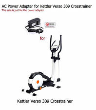 AC DC Power Adapter for KETTLER Verso 309 Crosstrainer