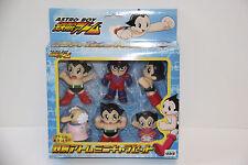 Tezuka Osamu Astro Boy Mini Charactor Set of 6 Takara Japan Movie 2003