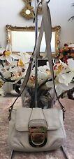 MICHAEL KORS Charlton Ivory Leather Small Cross-body Bag Purse MSRP $138 EUC