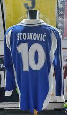 Maillot jersey shirt stojkovic serbia yugoslavia jugoslavija worn porte 2000 XL