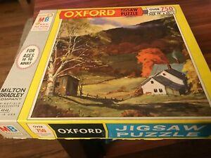 750 piece Vintage Oxford JIgsaw Puzzle- complete!