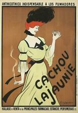 RARE LEONETTO CAPPIELLO 1900 CACHOU LAJAUNIE ORIGINAL VINTAGE FRENCH POSTER