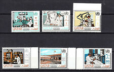 QATAR 1968 ANNIV OF W.H.O COMPLETE SET OF MNH STAMPS UNMOUNTED MINT
