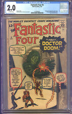 Fantastic Four #5 CGC 2.0 GD Universal CGC #1419560001