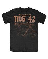MG 42 Premium T-Shirt MP 40, MP44, Army, Tactical