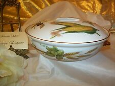 Royal Worcester EVESHAM Round Covered Casserole Shape 22 Size 3 Excellent Condit