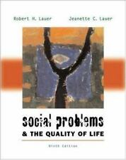 Social Problems and the Quality of Life with Making the Grade Student CD-ROM and