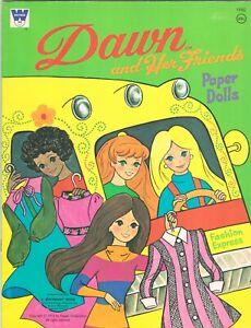 VINTAGE UNCUT 1972 DAWN FRIENDS FASHION PAPER DOLL HD LASR REPRODUCTION NO1 SEL