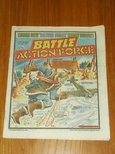 BATTLE ACTION FORCE 20TH APRIL 1985 BRITISH WEEKLY IPC MAGAZINE