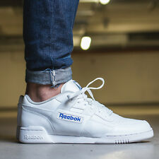 ad22835c84ea42 Reebok Classic Workout Plus 2759 White Leather Trainers 10