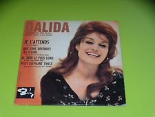 CD SINGLE - DALIDA - JE L'ATTENDS - 1962