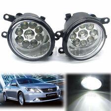 2pcs 9 LED Faros Antiniebla Lámpara Coche Para Toyota Corolla Camry Yaris Lexus