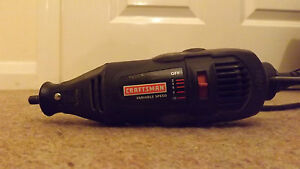 Craftsman 572.610230 Ball Bearing Motor Rotary Tool DOUBLE INSULATED 120V USA PL
