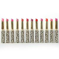 Leopard Long Lasting Lipstick Cosmetic Makeup Lip Gloss Lip Rouge 12Pcs/set Lot