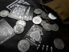 AMERICAN HOBO NICKEL COINS CHIEF SKULL M. DOLLAR  FANTASY MAGIC TRICKS