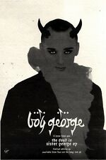 "NEWSPAPER CLIPPING/ADVERT 5/3/94PGN21 E.P. 7X5"" BOY GEORGE : THE DEVIL IN SISTER"
