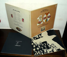 """12"""" THE BEST OF PETER PAUL and MARY  LP VINTAGE G.C. + BOOK TEN YEARS TOGETHER"""