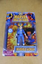 Marvel Hall of Fame Invisible Woman Action Figure Toybiz NIP,1996