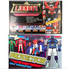 GORDIAN 80-90s Classic Chogokin Diecast Figure # Protector & Voltron Lionbot Set