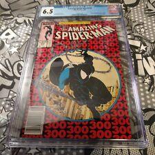 Amazing Spider-Man #300 Marvel Comics CGC 6.5 McFarlane Art 1st Full App. Venom