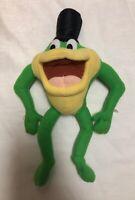 "WB Looney Tunes Michigan J. Frog 1997 ACE 11"" Stuff Plush Warner Brothers Frog"