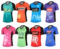 Big Bash Sports T Shirts T20 2017 Cricket Team Replica Tee Shirts