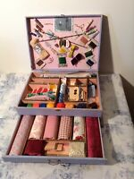 Vintage French 1930's Original Sewing Box - Mercerie (3194)