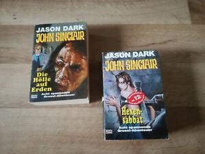 John Sinclair Buch Paket Die Hölle auf Erden/Hexensabbat Jason Dark Horror Gruse