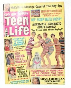 Vtg Johnny Crawford's Personal Star Celebrities Magazine - Mar 1966 Teen Life