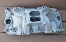 Edelbrock Performer RPM Aluminum Intake Manifold Big Block Chevy 396 427 454 502